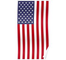 US Flag - Red Poster