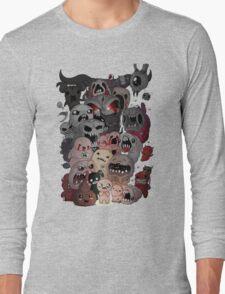 Binding of isaac fan art Long Sleeve T-Shirt