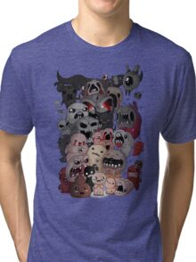 Binding of isaac fan art Tri-blend T-Shirt