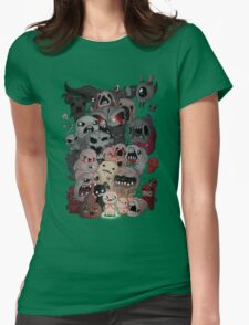 Binding of isaac fan art Womens Fitted T-Shirt
