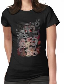 Binding of isaac fan art Womens Fitted T-Shirt
