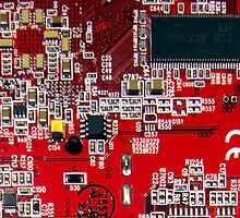 A cross section of a printed circuit board by ashishagarwal74