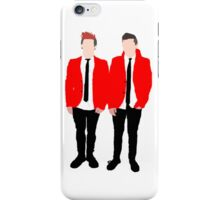 twenty one pilots in red iPhone Case/Skin