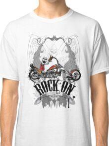 Skulls Rock On Rock Music T-Shirt Classic T-Shirt