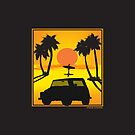 VW 181 Thing Kuebelwagen Trekker Acapulco Sunset by Frank Schuster