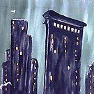 City in Green by WhiteDove Studio kj gordon