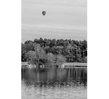 Over The Lake... Photographic Print