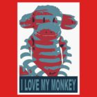 i love my monkey by yvonne willemsen