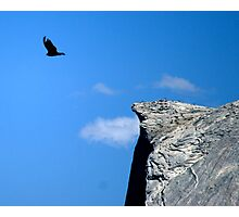 Bird off Half Dome Photographic Print