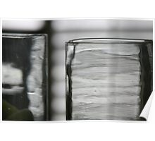 Studies in Glass ...shades of grey .. Poster