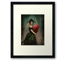 Mona's rose Framed Print