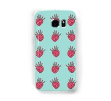 Retro raspberry Samsung Galaxy Case/Skin
