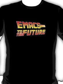 Emacs to the Future T-Shirt