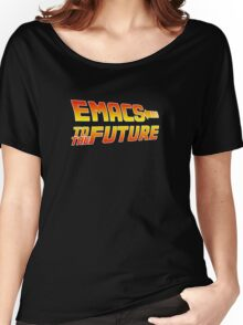 Emacs to the Future Women's Relaxed Fit T-Shirt