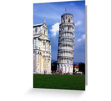 Pisa's Pride Greeting Card