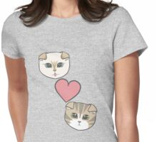 Meredith and Olivia Womens Fitted T-Shirt