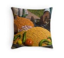 FoodTrade Throw Pillow