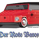 The Red Baron VW Thing by Frank Schuster