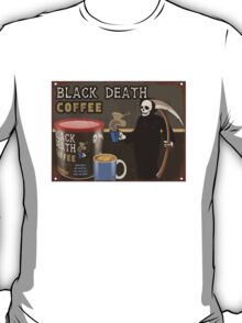 Black Death Coffee T-Shirt