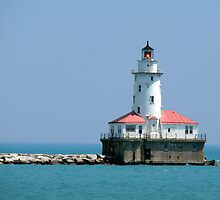 Chicago Breakwater Lighthouse by Timothy Gass