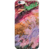 Acrylic Purple and Orange iPhone Case/Skin