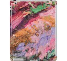 Acrylic Purple and Orange iPad Case/Skin