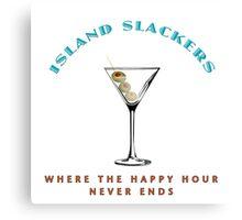 Island Slackers Happy Hour Canvas Print
