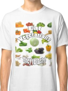 Vegetarians are Tasty Classic T-Shirt