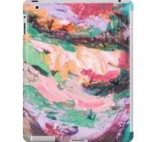 Acrylic Pink and Teal iPad Case/Skin