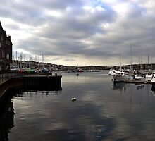 Falmouth Cornwall UK by lynn carter