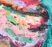 Acrylic Pink and Teal by ChrisDurrell