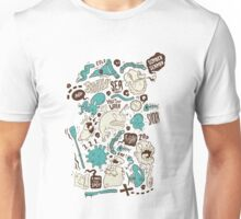 Salty Sea Unisex T-Shirt