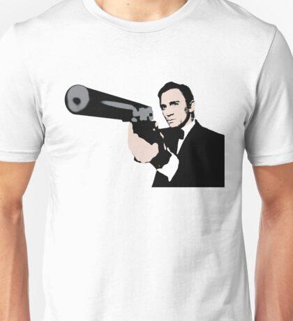 James Bond Pop Art Style Unisex T-Shirt