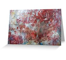 When Roses Bleed Greeting Card