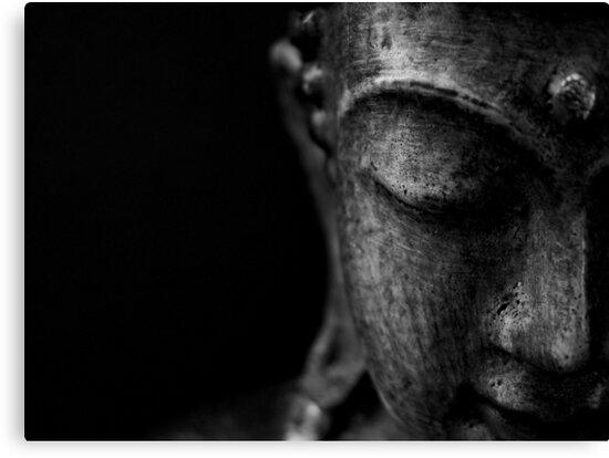 Buddha's Serenity by Caroline Fournier