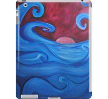 Blown Ocean Waves iPad Case/Skin