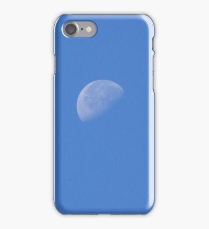 Daytime Moon iPhone Case/Skin