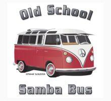Old School Samba Bus by Frank Schuster