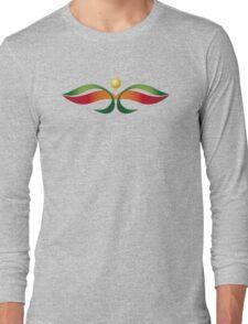 Oriental Butterfly Long Sleeve T-Shirt