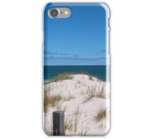 Reclaimed Sand Dunes & Coastal Plants. West Beach, Adelaide. S.A. iPhone Case/Skin