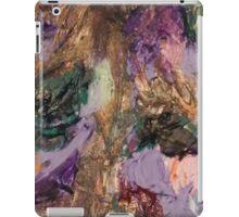 Acrylic Purple and Gold iPad Case/Skin