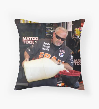 CORRY MACCLENATHIN REFUELING Throw Pillow
