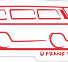 Speedy VW Vanagon Caravelle Red Sticker