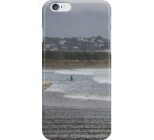 Surfing in the Rain iPhone Case/Skin