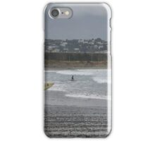 Surfing in the Rain iPhone Case/Skin