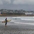 Surfing in the Rain by Peter Kurdulija