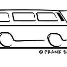 Speedy VW Vanagon Caravelle Black by Frank Schuster