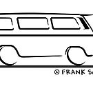 Speedy VW Vanagon Caravelle Black by Frank Schuster