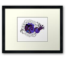 I Can Show You My Opinions Framed Print