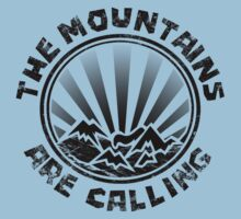 The mountains are calling and i must go. T-Shirt